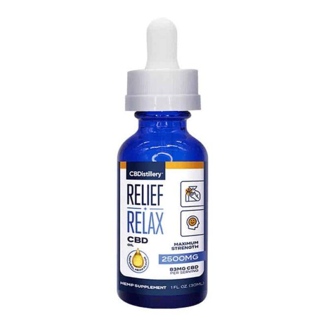 CBDistillery-Full-Spectrum-2500-mg-Relief-Relax-CBD-Oil-Tincture