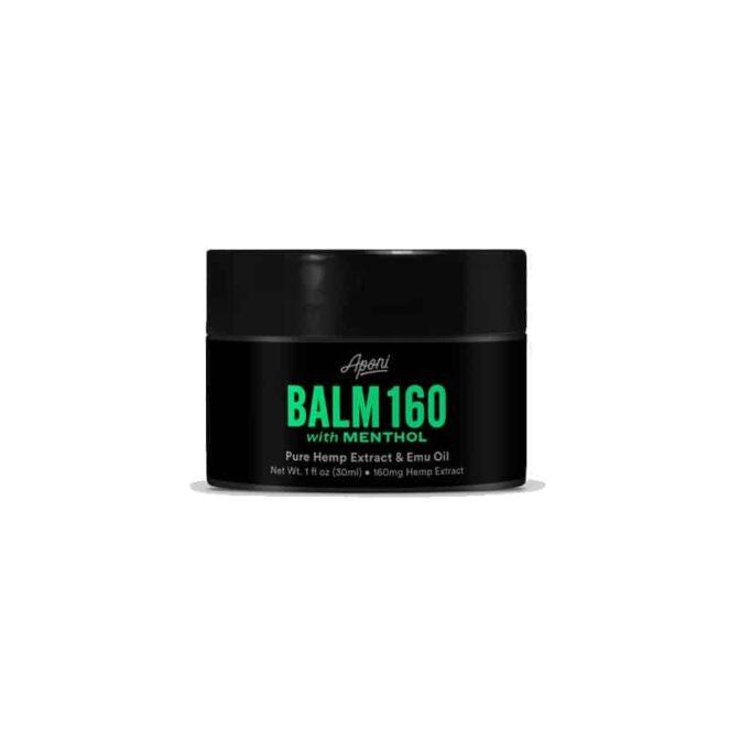 Aponi BioBotanica CBD Extract Balm Menthol 160