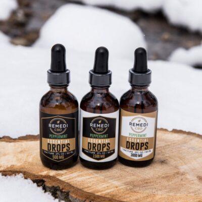 Remedi CBD Essential Drops CBD Tincture - Mint