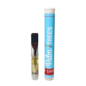 Palm Trees Red Sangria CBD Vape Cartridge