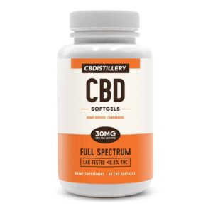 CBDistillery-Full-Spectrum-CBD-Infused-Softgels-60-count