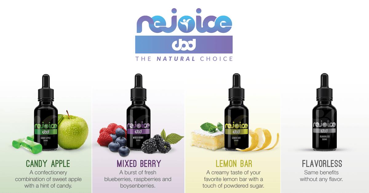 Rejoice CBD New Flavors