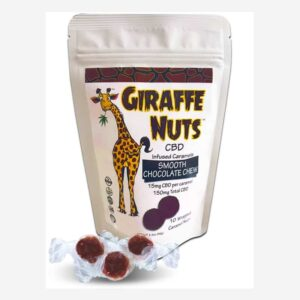 Giraffe-Nuts-Smooth-Chocolate-Chew-Caramel-CBD-Edibles