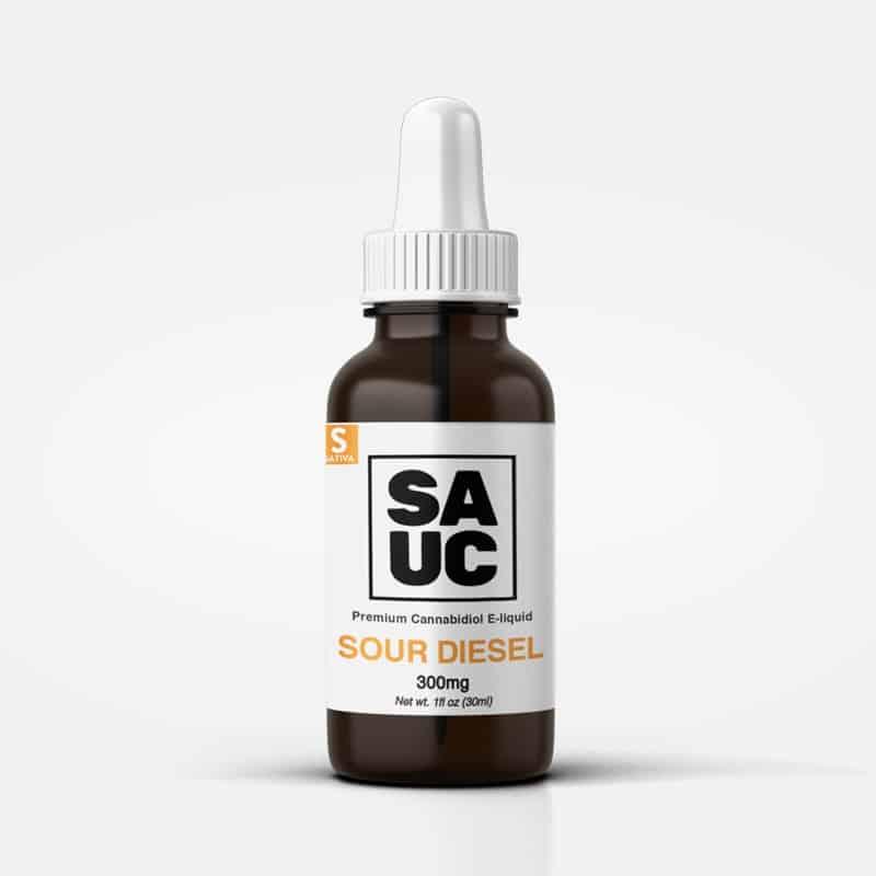SAUC Sour Diesel CBD Vape Oil