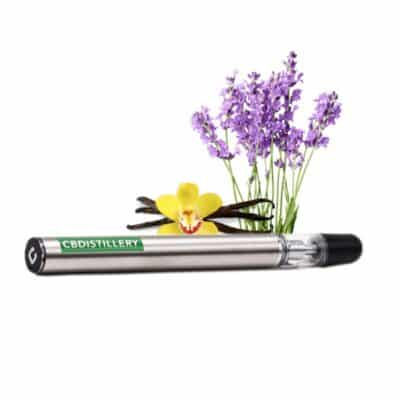 CBDistillery-CBD-Vape-Pen-Lavender-Vanilla
