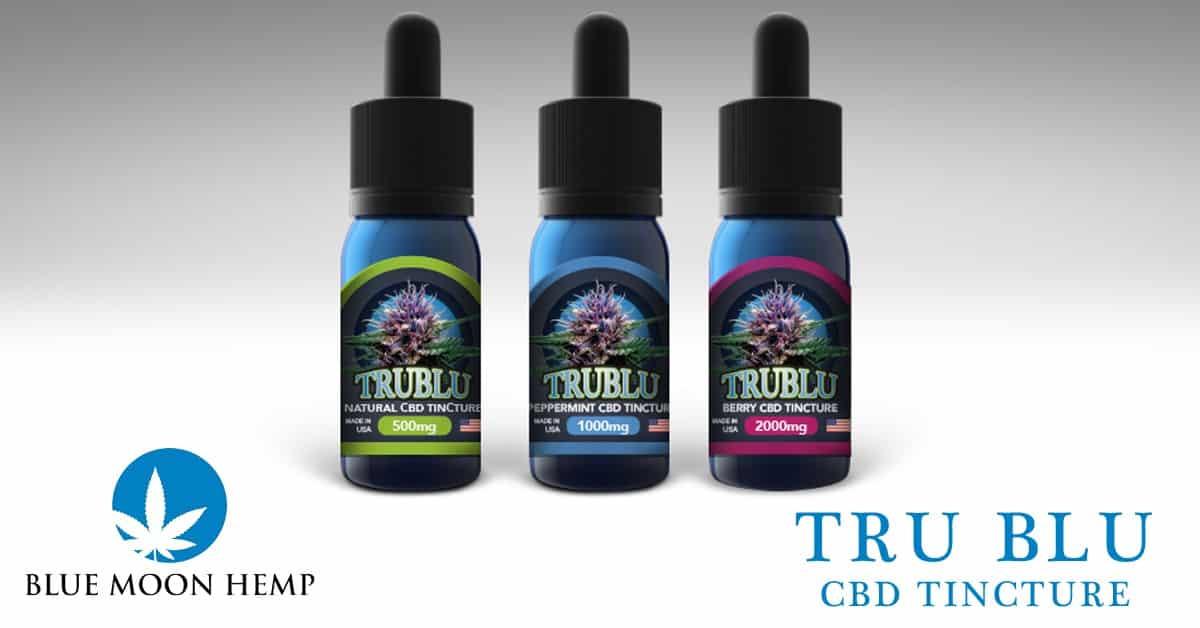 new-tru-blu-cbd-tincture-flavors-and-strength