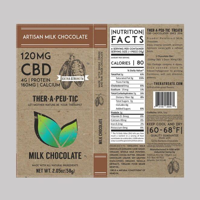 Therapeutic-Treats-Extra-Strength-Milk-Chocolate-CBD-Chocolate-Bar-3