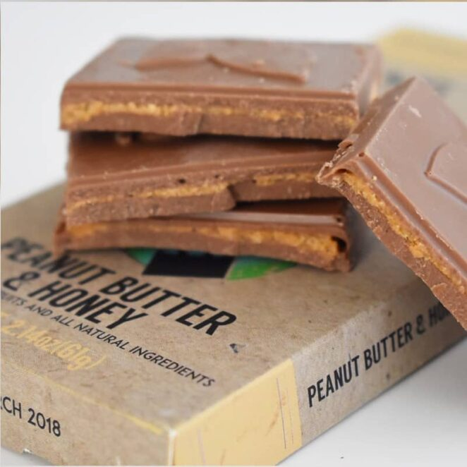 Therapeutic-Treats-Peanut-Butter-&-Honey-CBD-Chocolate-Bar-3