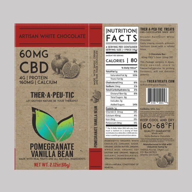 Therapeutic-Treats-Pomegranate-Vanilla-Bean-CBD-Chocolate-Bar-4