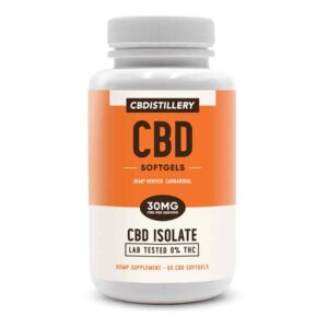 CBDistillery-THC-Free-CBD-Isolate-Infused-Softgels-60-countl