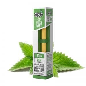 CBDfx Fresh Mint CBD Oil Vape Pen