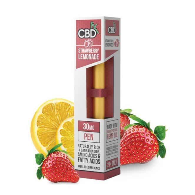 CBDfx Strawberry Lemonade CBD Oil Vape Pen