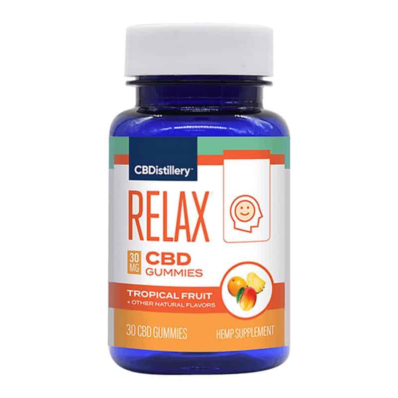 CBDistillery CBD Gummies – Broad Spectrum Relax Anytime Formula