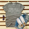 CBD-Oil-Solutions-Tee-Womens-Gray