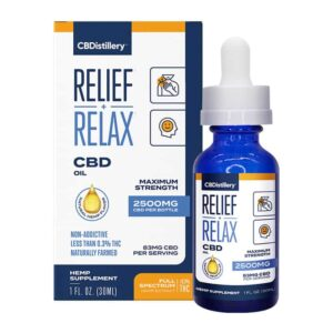 CBDistillery-Full-Spectrum-2500-mg-Relief-Relax-CBD-Oil-Tincture-Box
