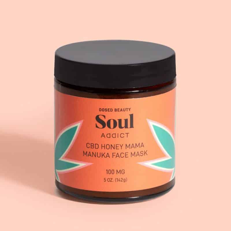 Soul Addict Honey Mama Manuka CBD Face Mask
