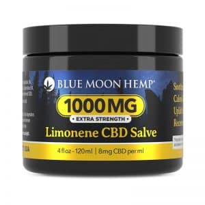 Blue Moon Hemp Creme Blu Limonene CBD Salve 1000 mg