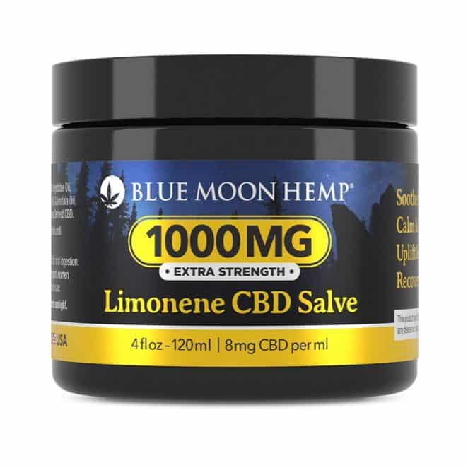 Blue Moon Hemp Creme Blu Limonene CBD Salve 1000 mg