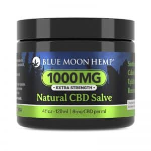 Blue Moon Hemp Creme Blu Natural CBD Salve 1000 mg