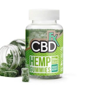 CBDfx-CBD-Gummies-with-Turmeric-and-Spirulina-300mg-bottle
