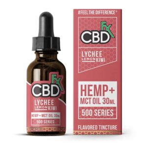 CBDfx-CBD-Hemp-Oil-Flavored-Tincture-Lychee-Lemon-Kiwi
