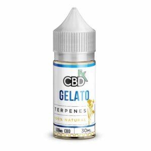 CBDfx Gelato Terpenes CBD Vape Oil 500 mg