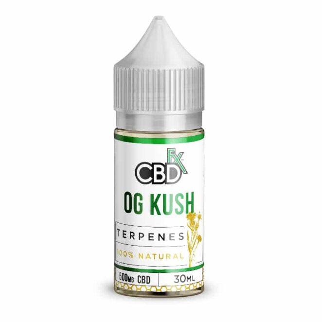 CBDfx OG Kush Terpenes CBD Vape Oil 500 mg