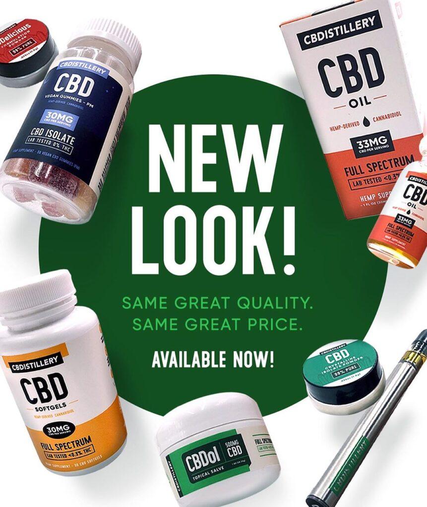 CBDistillery New Look
