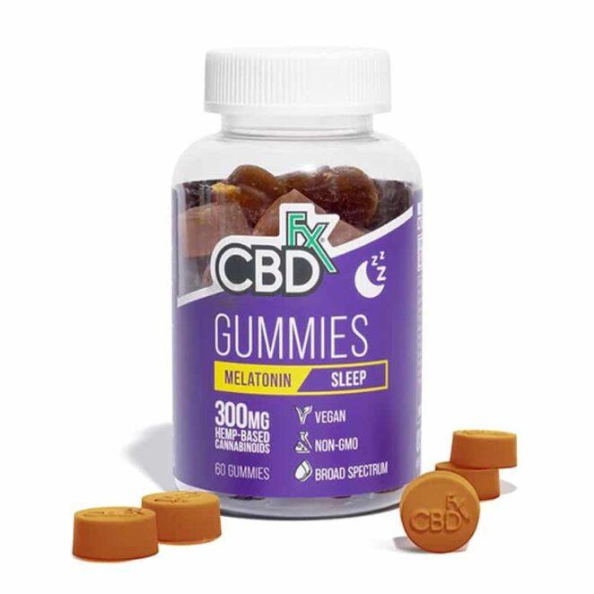 CBDfx CBD Gummies with Melatonin