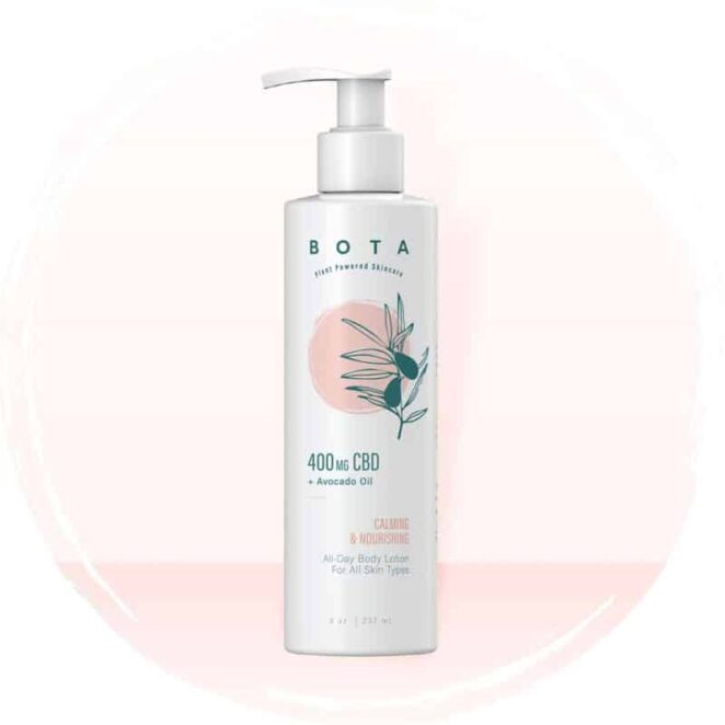 BOTA All-Day Nourishing CBD Body Lotion Moisturizer