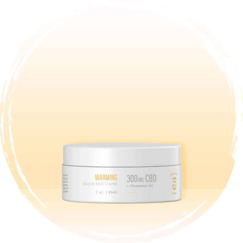 BOTA CBD Warming Muscle Melt Crème Salve