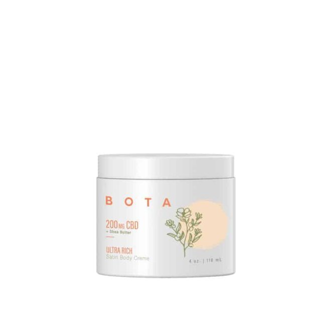 BOTA Ultra Rich CBD Satin Body Crème