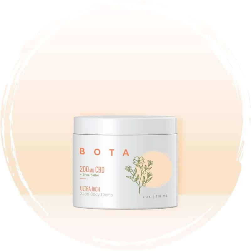 BOTA Ultra Rich CBD Satin Body Crème Moisturizer
