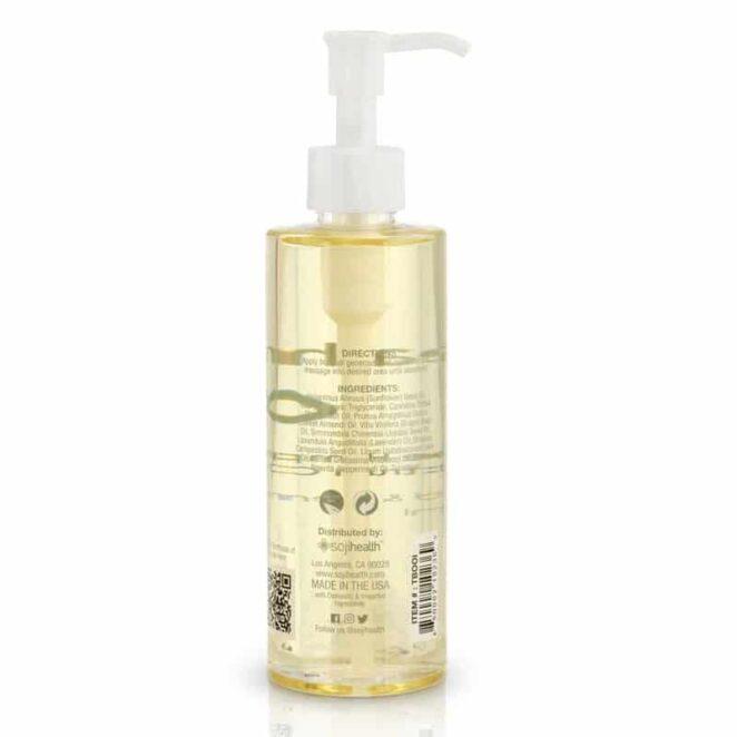 Soji Health CBD Body Oil Lavender Sweet Almond Moisturizing