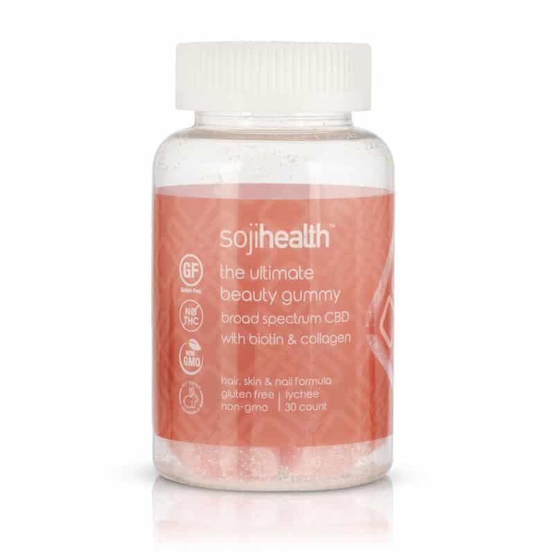 Soji Health Ultimate CBD Beauty Gummies