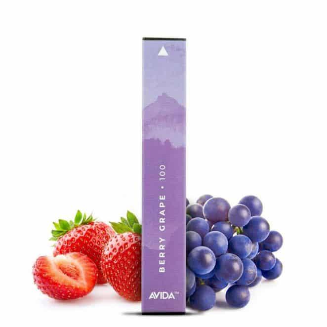 Avida PUFF Berry Grape CBD Vape Pen