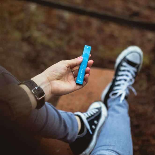 Avida PUFF Blue Razz CBD Oil Vape Pen