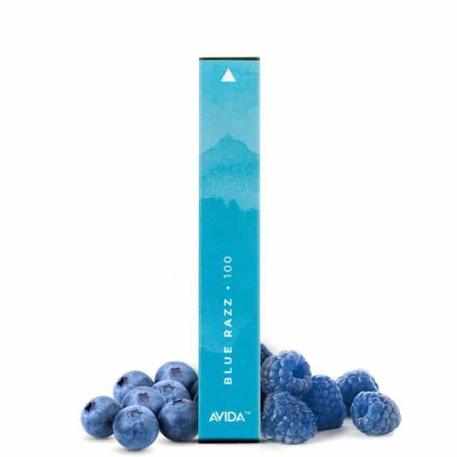 Avida PUFF Blue Razz CBD Vape Pen