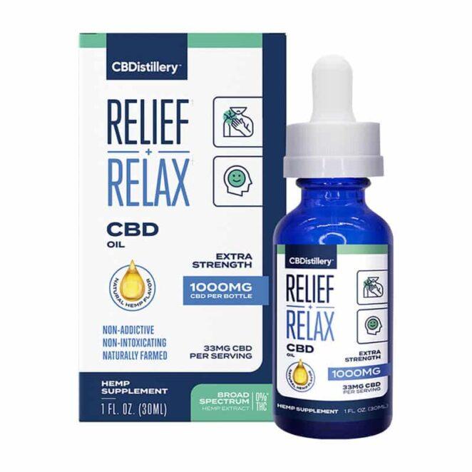 CBDistillery-Broad-Spectrum-Relief-Relax-CBD-Oil-Tincture-Box-Bottle-1000-mg