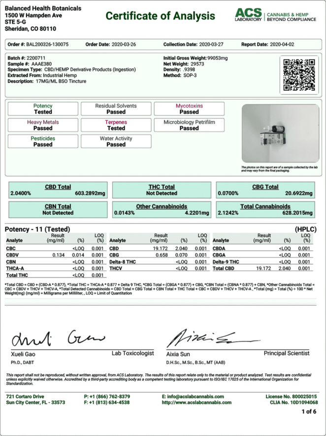 CBDistillery-Broad-Spectrum-Relief-Relax-CBD-Oil-Tincture-Lab-Test-Results-COA-500-mg