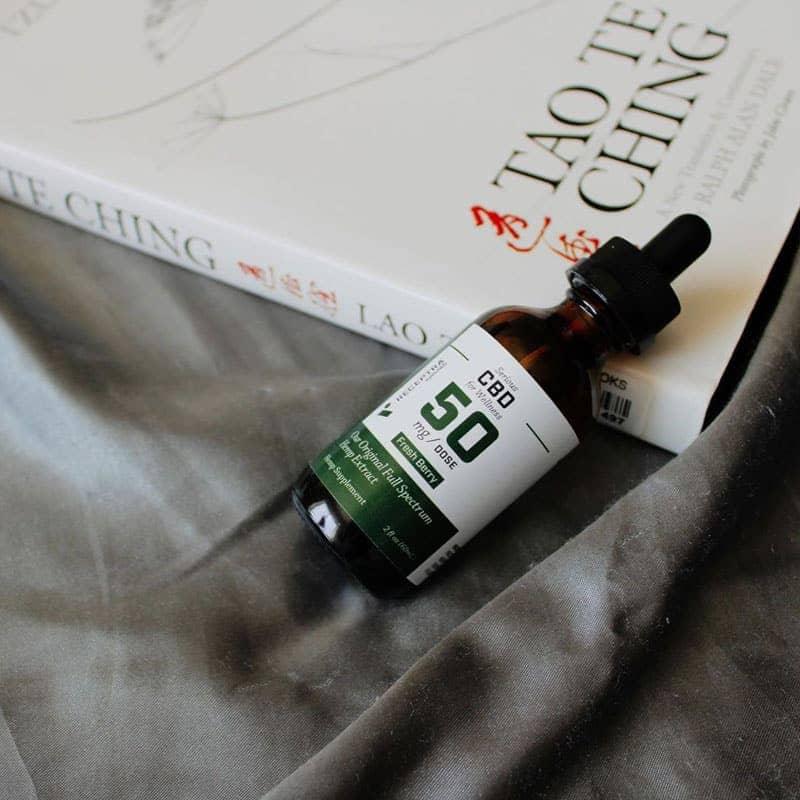 Receptra Serious Wellness Full-Spectrum CBD Oil Tincture Product